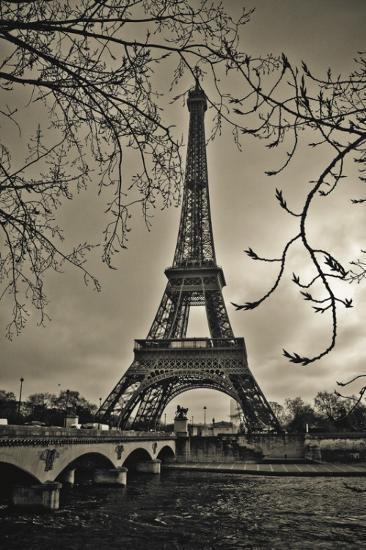 Curves of Eiffel-Sabri Irmak-Art Print