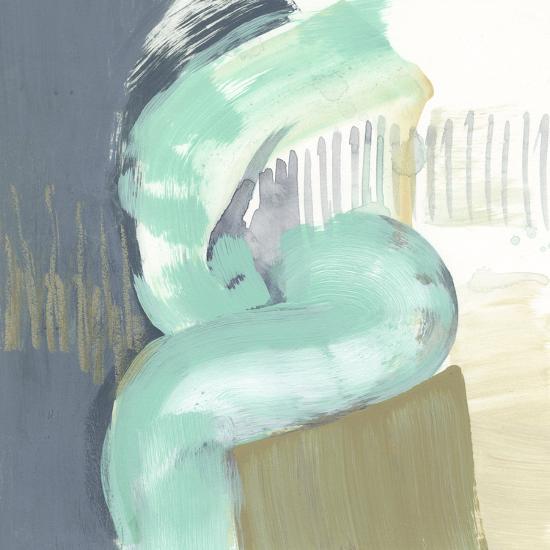 Curvilinear IV-Jennifer Goldberger-Art Print