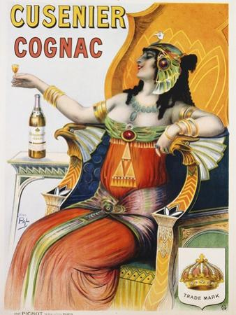 Cusenier Cognac Advertisement Poster after Pal