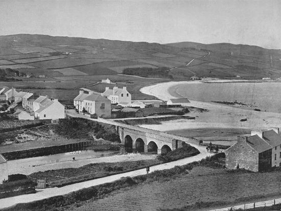 'Cushendun - The River, The Hills, and Cushendun Bay', 1895-Unknown-Photographic Print