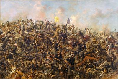 Custer's Last Stand by Edgar Samuel Paxson, 1899-Edgar Samuel Paxson-Giclee Print