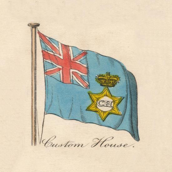 'Custom House' 1838-Unknown-Giclee Print
