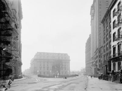 Custom House and Bowling Green, New York, N.Y., C.1907-10--Photographic Print