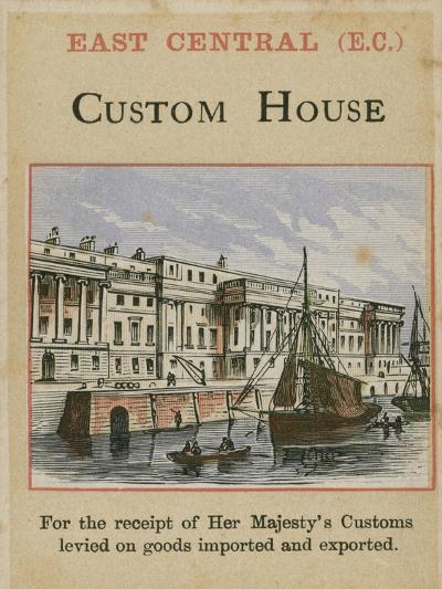 Custom House--Giclee Print