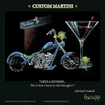 Custom Martini-Michael Godard-Art Print