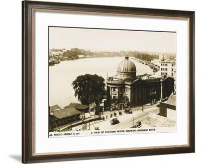 Customs House, Brisbane, Australia--Framed Photographic Print