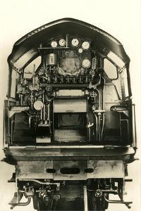 Cutaway View of Train Engine