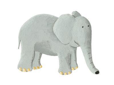Cute Elephant-andreapetrlik-Art Print