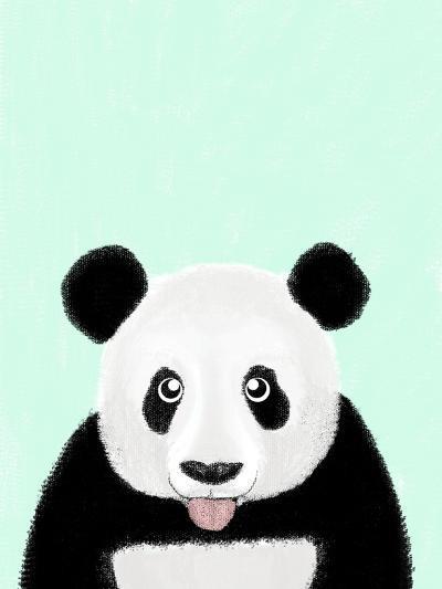 Cute Panda-Barruf-Art Print