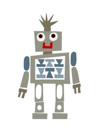 Cute Robot Smiling