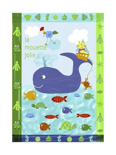 Cute Sea Creatures--Art Print
