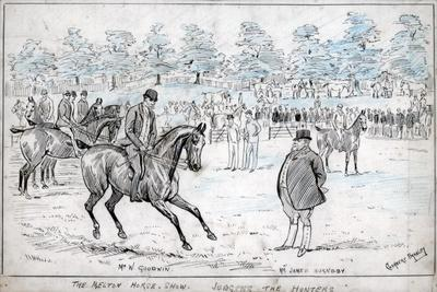 The Melton Horse Show, Judging the Hunters, C1880-1940
