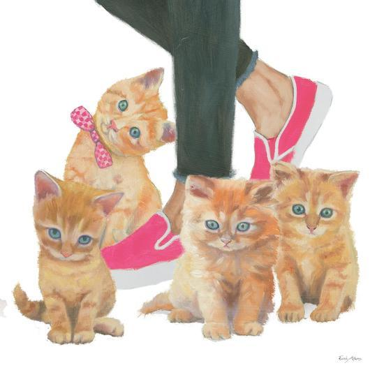 Cutie Kitties I-Emily Adams-Art Print