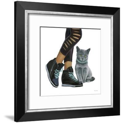 Cutie Kitties V-Emily Adams-Framed Art Print