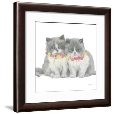 Cutie Kitties VIII-Emily Adams-Framed Art Print