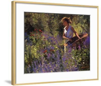 Cutting Garden-Thomas J. Larson-Framed Art Print