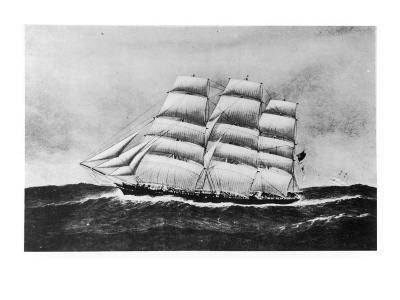 Cutty Sark Passes Cimba--Giclee Print
