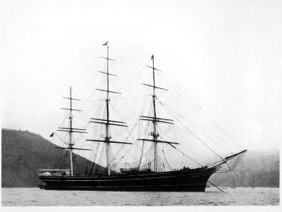 Cutty Sark under Anchor--Photographic Print