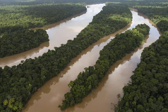 Cuyuni River, Guyana. Longest River in Guyana-Pete Oxford-Photographic Print