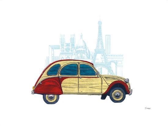 CV Paris-Barry Goodman-Art Print