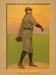 Cy Young, 1911 (T3) Turkey Red Cabinets Trading Card