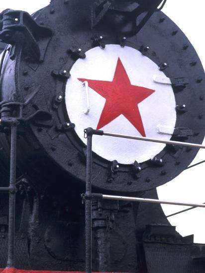 CY116 Retired Train, Trans Siberian Railroad Museum, Ulan Batar, Mongolia-Bill Bachmann-Photographic Print