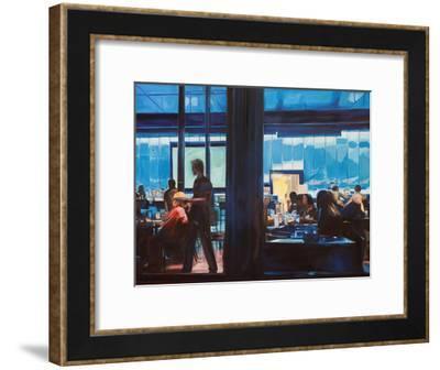 Cyber Cafe-Katrina Swanson-Framed Art Print
