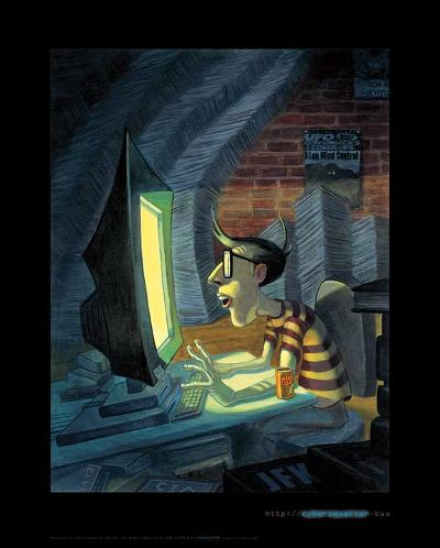CyberSquatter-BUA-Art Print