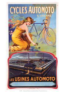 Cycles Automoto St Etienne, Les Usines Automoto, c.1914