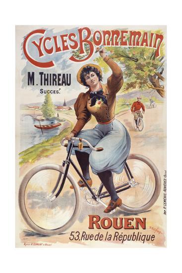 Cycles Bonnemain-Marcus Jules-Giclee Print