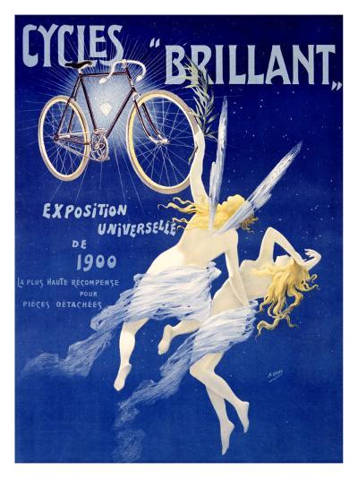 Cycles Brillant-Henri Gray-Giclee Print