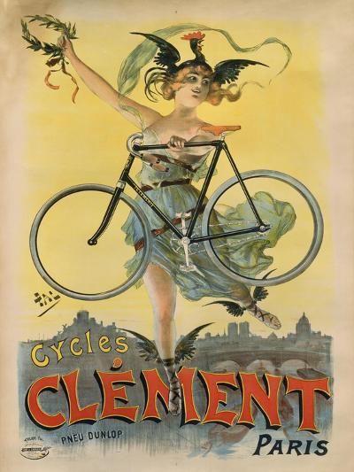 Cycles Clement Paris-Marcus Jules-Giclee Print