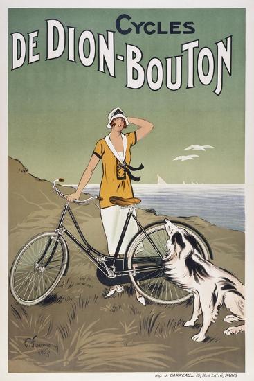 Cycles De Dion-Bouton--Giclee Print