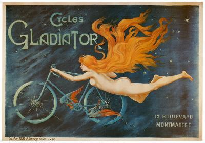Cycles Gladiator-Georges Massias-Art Print