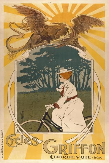 Cycles Griffon-Marcus Jules-Giclee Print