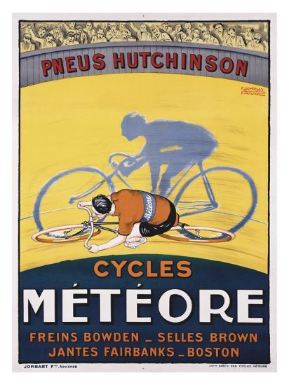 Cycles Meteore-Georges Faivre-Giclee Print