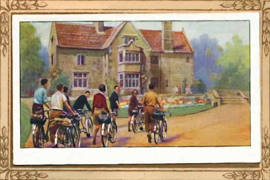 'Cyclists & The Y.H.A.', 1939-Unknown-Giclee Print