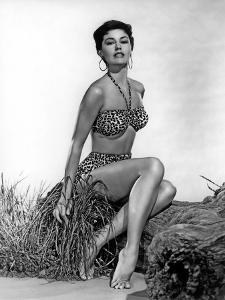 CYD CHARISSE in the 50's (b/w photo)
