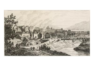 Cyfarthfa Iron Works, Wales--Giclee Print