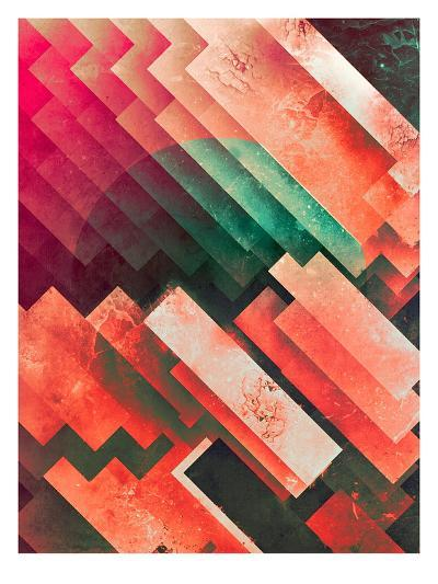 cylyr fyylds-Spires-Art Print
