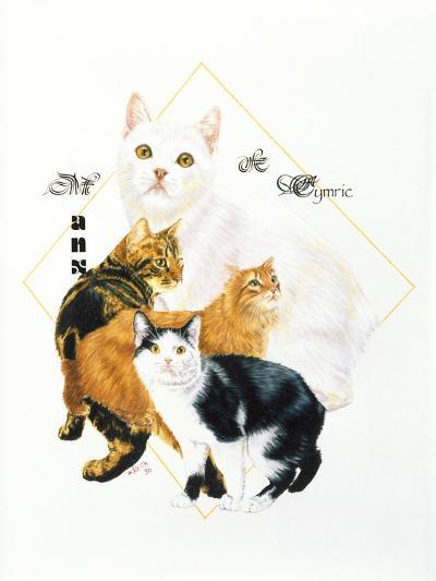 Cymric and Manx-Barbara Keith-Giclee Print