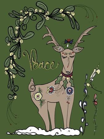 Folklore Reindeer
