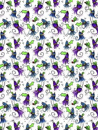 Tipsy Reindeer Tinsel Tassels Repeat