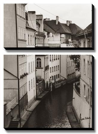 Little Canal, Prague, Czech Republic by Cyndi Schick