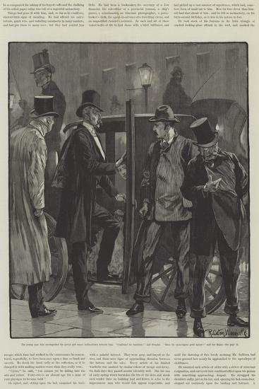 Cynic Fortune, a Tale of a Man with a Conscience, by David Christie Murray-Richard Caton Woodville II-Giclee Print