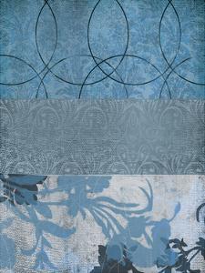Blue Flower 1 by Cynthia Alvarez