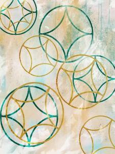 Sparkling Spheres 1 by Cynthia Alvarez