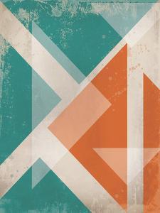 Triangles 1 by Cynthia Alvarez