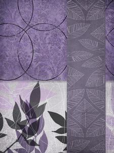 Vibrant Purple Leaf 1 by Cynthia Alvarez