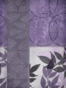 Vibrant Purple Leaf 2 by Cynthia Alvarez